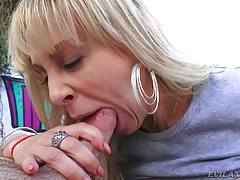 Anal MILF Cherie Gaping, Rimming, A2M