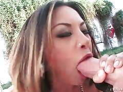 Slutty Asian Babe Deeply Swallows Big Dick 2