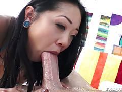 Asian Saya`s Anal Fun & A2M Face Fuck